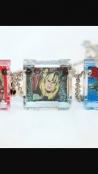 Comic Cube Necklaces