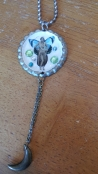 Vintage Bottle Cap Necklace