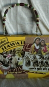 """Hu-La-La"" Art Handbag for Mary Huff of Southern Culture On The Skids"