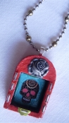 """""""Day of the Dead"""" Shrine Necklace"""
