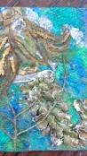 Mixed Media Mermaid Trading Card